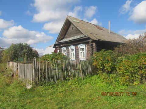 Дом жилой в деревне с пропиской