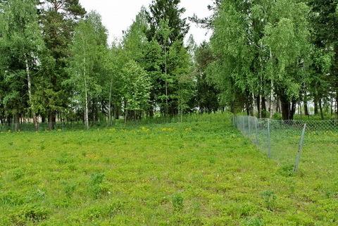 Участок у леса 24,8 сот для ИЖС рядом с Истринским вдхр. 48 км от МКАД