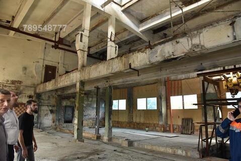 Складское помещение на огороженной охраняемой территории завода