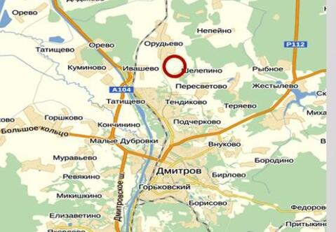 Продается земельный участок 1 га д. Шелепино Дмитровского района