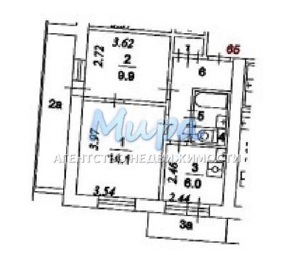 Предлагается 2х комнатная квартира с замечательной аурой. более трех