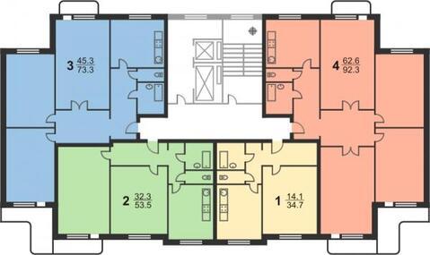Продаётся 1-комнатная квартира по адресу Металлургов 62