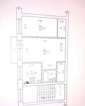 Продажа двухкомнатной квартира г. Щелково ул. Институтская дом 19