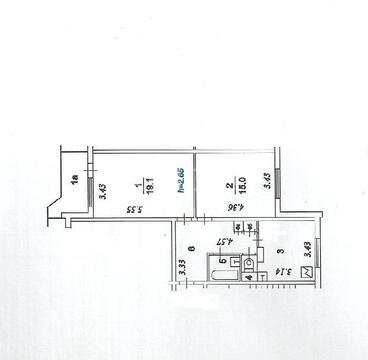 Продажа 2 комнатной квартиры м.Выхино (Рязанский проспект)