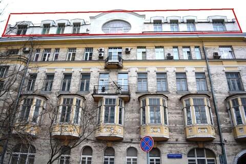 Продажа офиса 415 м2 на Б.Молчановке 12с1