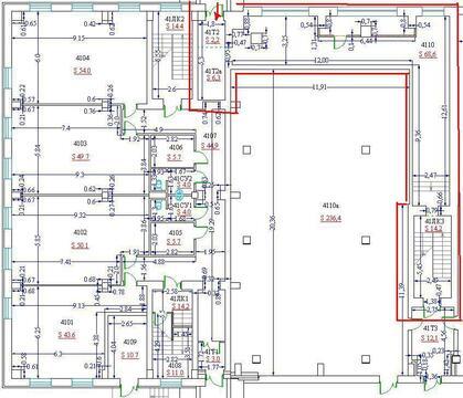 Сдаётся в аренду под гостиницу три этажа помещений площадью 4,523 кв., 7500 руб.