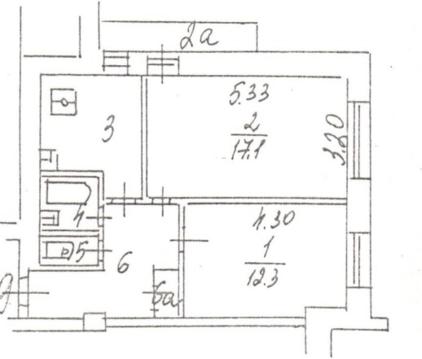 Продается 2-х комнатная квартира 15 минут пешком до м. Автозаводская