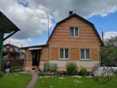 Кирпичный двухэтажный дом на участке 5,1 сот. СНТ Факел, г.о. Подольск