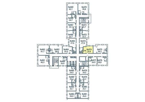 Москва, 1-но комнатная квартира, ул. Радиальная 6-я д.7, к 35, 2801074 руб.