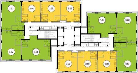 Москва, 2-х комнатная квартира, Головинское ш. д.10, 10971000 руб.