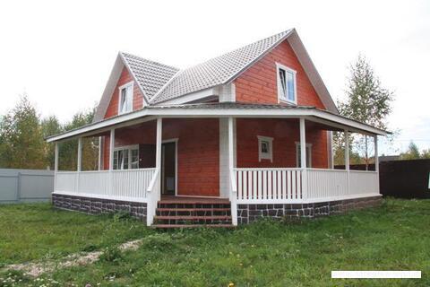 Аккуратные домики в поселке Полевшина Волоколамское шоссе 50 км