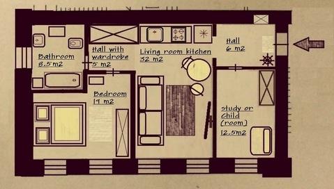 Москва, 3-х комнатная квартира, Спиридоньевский пер. д.5 с2, 145000 руб.