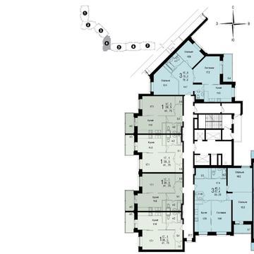 Москва, 1-но комнатная квартира, ул. Академика Янгеля д.1 к1, 10600000 руб.