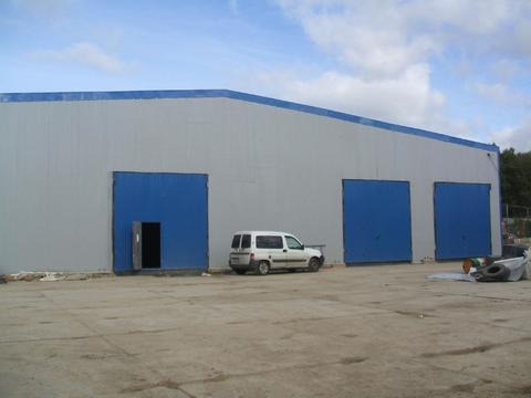 Сдается ! Теплое складское помещение 100 кв. м Закрытая территория