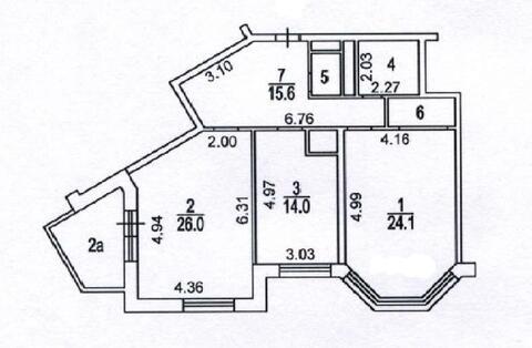 Продажа квартиры в элитном доме бизнес-класса!