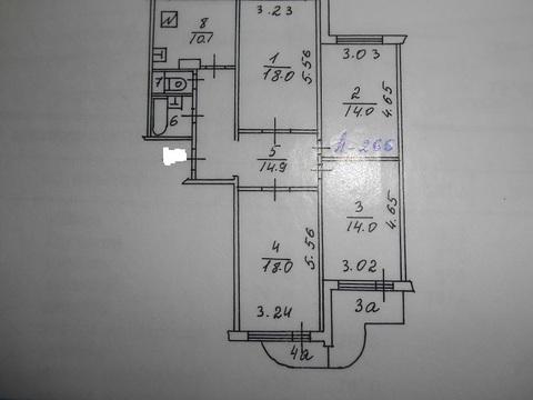 Продажа 4-х комнатной квартиры в Бутово