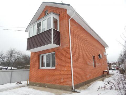 Новый кирпичный дом 119 кв.м. 7,5 сот. в п.Тучково