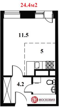 Москва, 1-но комнатная квартира, ул. Изюмская д.49 к1, 1860000 руб.