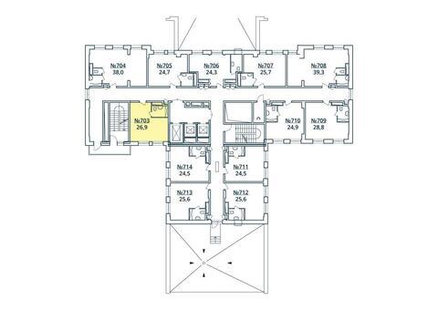 Москва, 1-но комнатная квартира, ул. Радиальная 6-я д.7, к 35, 3107918 руб.