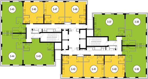 Москва, 2-х комнатная квартира, Головинское ш. д.10, 10589400 руб.