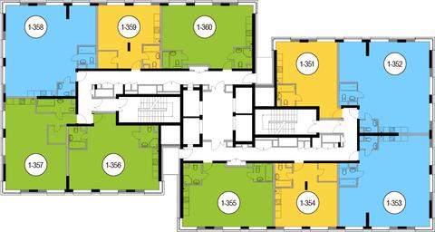 Москва, 2-х комнатная квартира, Головинское ш. д.10, 14630200 руб.