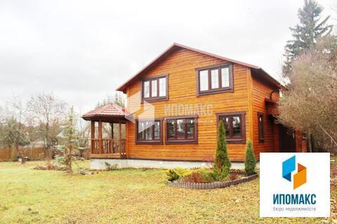Бревенчатый дом общей площадью 90 м2