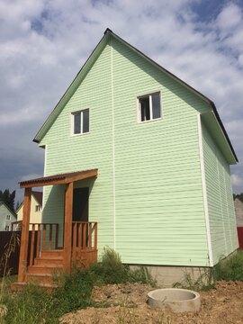 Купить дом из бруса в Одинцовском районе д. Ивонино