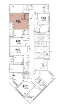 Москва, 1-но комнатная квартира, ул. Радиальная 6-я д.7, 4496976 руб.