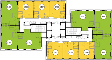 Москва, 2-х комнатная квартира, Головинское ш. д.10, 11193600 руб.