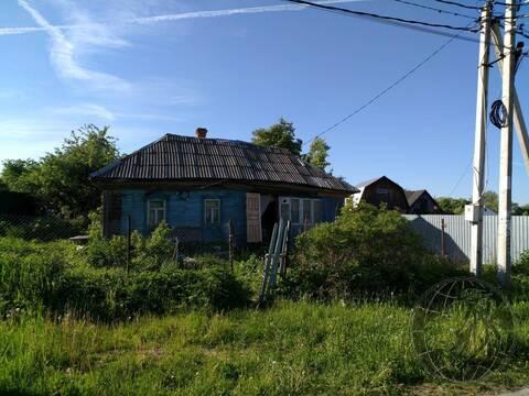 Участок со старым домом ИЖС в д. Сертякино г.о. Подольск