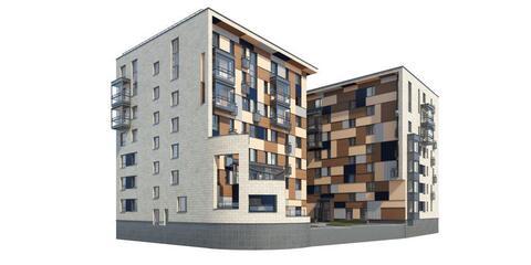 """Квартира-студия 89,90 кв.м. в ЖК """"Два дома 20&20"""""""