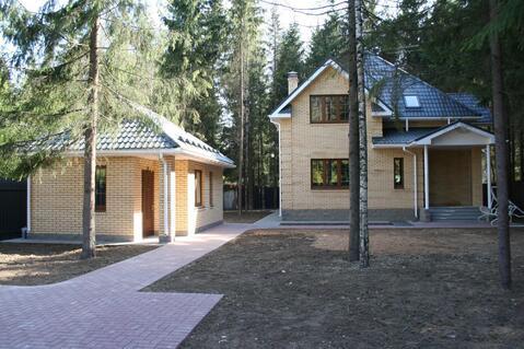 Новый коттедж и баня в лесу, Минское шоссе, КИЗ Зеленая роща, охрана