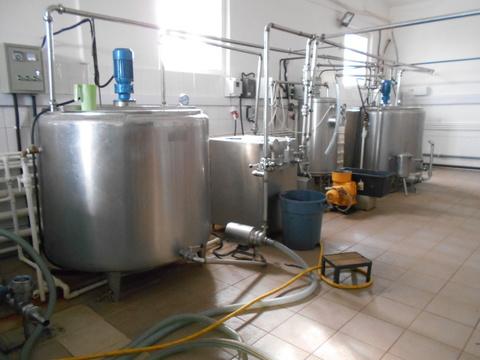 Помещение под молочное производство с оборудованием