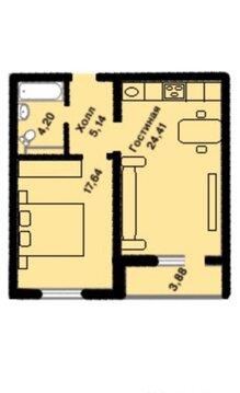 Москва, 1-но комнатная квартира, Татьянин Парк д.16 к1, 8500000 руб.