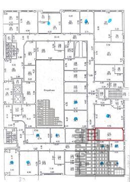 Офисное помещение с ремонтом, 62.5 кв.м, БЦ с инфраструктурой