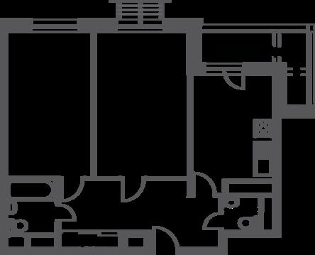 """2-комнатная квартира, 62 кв.м., в ЖК """"Софьин-дом. Лидер на Дмитровском"""""""