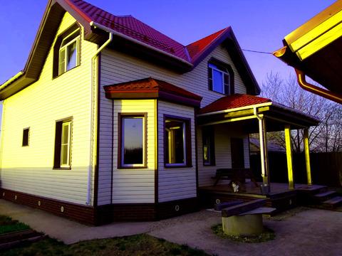 Дом 145 кв.м на уч-ке 4,5 сот, Можайское ш,27 км от МКАД, Голицыно