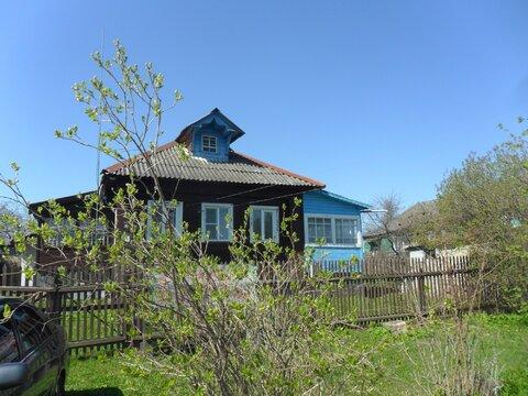 Жилой дом 100 кв.м. на участке 38 сот. в обжитой д. Семеновское