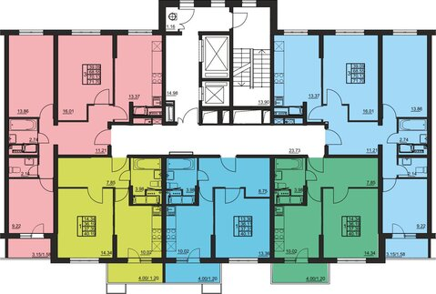 Москва, 2-х комнатная квартира, 2-я Муравская д.1, 5848597 руб.