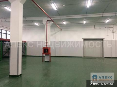 Аренда помещения пл. 2000 м2 под склад, м. Домодедовская в складском .