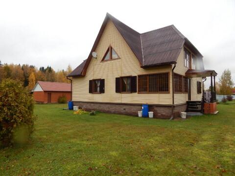 Дом 246 кв м на шикарном участке 48 соток близ д. Петрищево