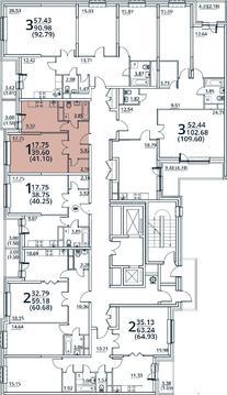 Москва, 1-но комнатная квартира, ул. Радиальная 6-я д.7, 4574430 руб.