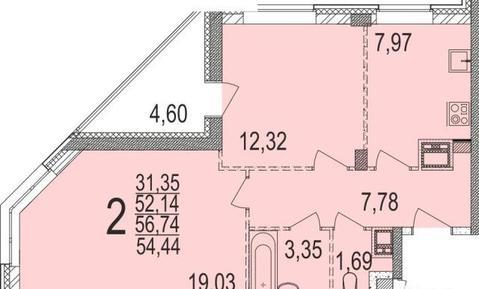 Продаётся 2-комнатная квартира по адресу Юбилейный 68