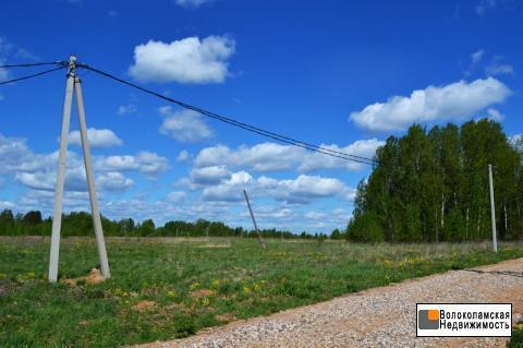 Продажа участка 15 соток в деревне Титово, рядом Рузское вдхр