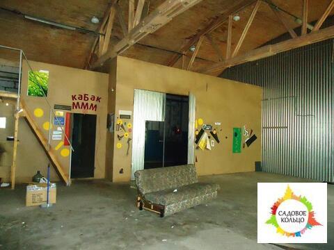 Теплый склад с окнами, разгрузка в пол, широкие распашные ворота, внут