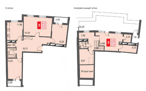 Лобня, 3-х комнатная квартира, фрунзе д.1, 6100000 руб.