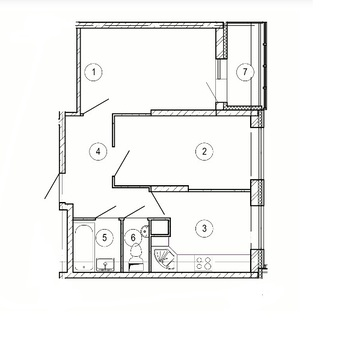 Красногорск, 2-х комнатная квартира, ул. Крайняя д.11, 4596300 руб.