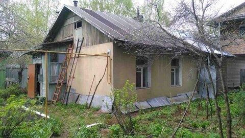 В г.Пушкино мкр.Клязьма продается дом с коммуникациями на 4-х сотках
