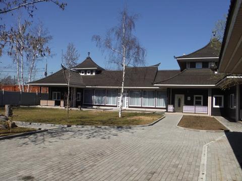 Продается красивый дом в китайском стиле (новостройка) в Крекшино