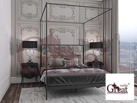 """4-комнатная квартира, 210 кв.м., в Элитный дом """"РЕНОМЭ"""""""